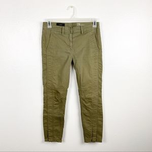 J. Crew Ankle Zippered Legs Ankle Jeans